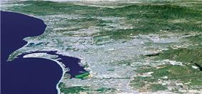 San Diego county satellite image
