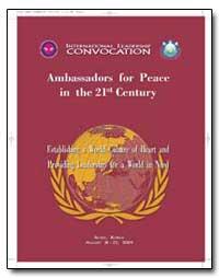 International Leadership Convocation by Kwak, Chung Hwan, Rev.