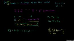 Probability using combinatorics : Genera... Volume Trigonometry and precalculus series by Sal Khan