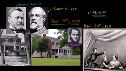 United States History : Appomattox Court... Volume United States History series by Sal Khan