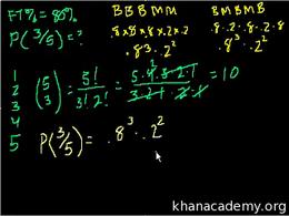 Probability using combinatorics : Probab... Volume Trigonometry and precalculus series by Sal Khan