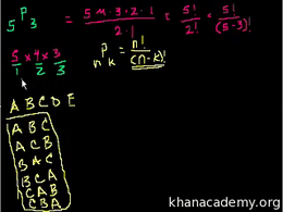 Permutations and combinations : Combinat... Volume Trigonometry and precalculus series by Sal Khan