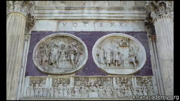 Ancient Rome : Arch of Constantine Volume Art History series by Beth Harris, Steven Zucker