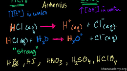 Acids and bases : Acid Base Introduction Volume Science & Economics series by Sal Khan