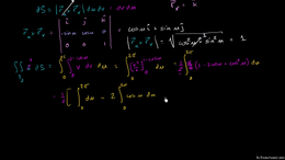 Surface integrals : Surface Integral Ex3... Volume Calculus series by Sal Khan