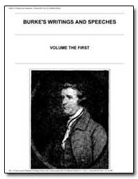 Burke's Writings and Speeches by Nimmo, John C.