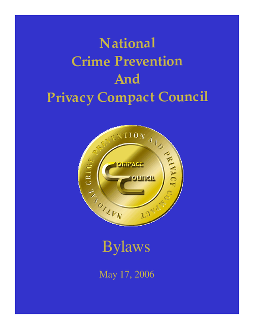 National Crime Prevention and Privacy Co... by National Crime Prevention and Privacy Compact and ...