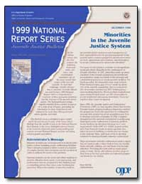 Minorities in the Juvenile Justice Syste... by Government Printing Office