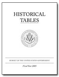 Historical Tables by Government Printing Office