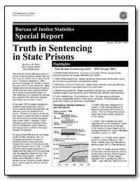 Bureau of Justice Statistics Special Rep... by Ditton, Paula M.