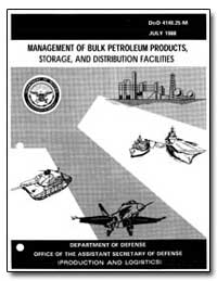 Management of Bulk Petroleum Products, S... by Department of Defense