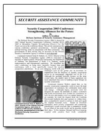 Security Cooperation 2003 Conference: St... by Grafton, Jeffrey S.