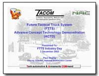 Future Tactical Truck System (Ftts) Adva... by Department of Defense
