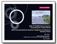 Bae Systems North America Innovating for... by Stow, Bob