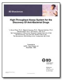 High-Throughput Assay System for the Dis... by Pitner, J. Bruce