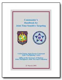Commanders Handbook for Joint Time-Sensi... by Department of Defense