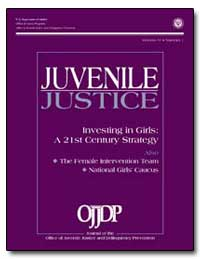 Juvenile Justice Investing in Girls : A ... by Bilchik, Shay