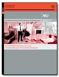 Hand-Held Metal Detectors for Use in Con... by Hart, Sarah V.