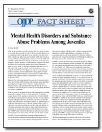 Mental Health Disorders and Substance Ab... by Bilchik, Shay