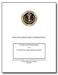 Office of National Drug Control Policy by Department of Justice