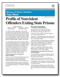 Profile of Nonviolent Offenders Exiting ... by Durose, Matthew R.