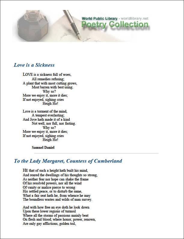 Love Is a Sickness by Daniel, Samuel