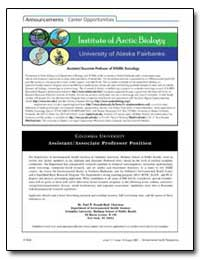 Institute of Arctic Biology University o... by Rieth, Susan