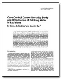 Case-Control Cancer Mortality Study and ... by Gottlieb, Marise S.