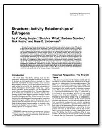 Structure-Activity Relationships of Estr... by Jordan, V. Craig