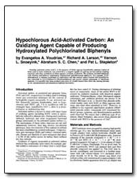 Hypochlorous Acid-Activated Carbon : An ... by Voudrias, Evangelos A.