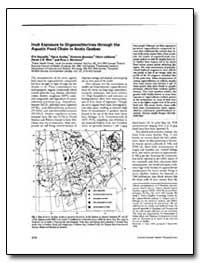 Lnuit Exposure to Organochlorines throug... by Norstrom, Ross J.