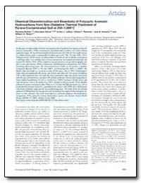 Chemical Characterization and Bioactivit... by Lafleur, Arthur L.