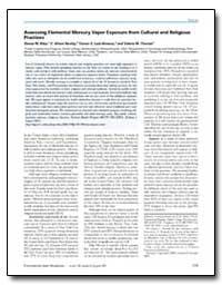 Assessing Elemental Mercury Vapor Exposu... by Riley, Donna M.