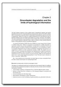 Groundwater Degradation and the Limits o... by Food and Agriculture Organization of the United Na...