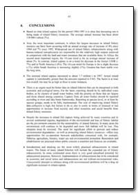 Conclusions by Food and Agriculture Organization of the United Na...