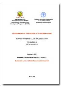 Volume II of IV Bankable Investment Proj... by Food and Agriculture Organization of the United Na...