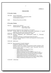 Programme by Food and Agriculture Organization of the United Na...