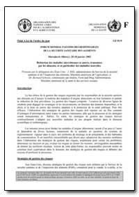Forum Mondial Fao/Oms des Responsables d... by Food and Agriculture Organization of the United Na...