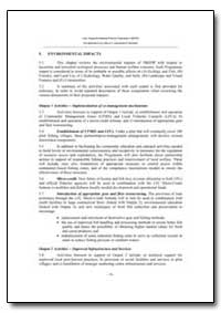 Environmental Impact Assessment Report E... by Food and Agriculture Organization of the United Na...