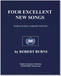 Four Excellent New Songs: Duke of Gordon... by Burns, Robert