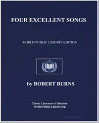 Four Excellent Songs: Highland Harry; Th... by Burns, Robert
