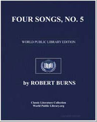 Four Songs: Annandale Robin; The Blue Ye... by Burns, Robert