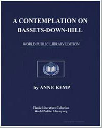 Contemplation on Bassets-Down-Hill by Kemp, Anne
