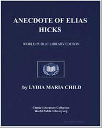 Anecdote of Elias Hicks by Child, Lydia Maria