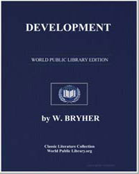 Development a Novel by Bryher, W.
