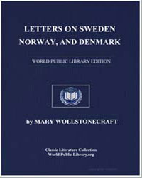 Letters on Sweden, Norway, And Denmark by Wollstonecraft, Mary