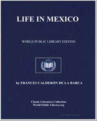 Life in Mexico by De La Barca, Frances Calderon