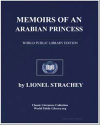 Memoirs of an Arabian Princess by Strachey, Lionel