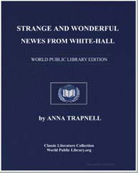 Strange and Wonderful News from White-Ha... by Trapnel, Anna