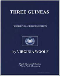 Three Guineas by Woolf, Virginia